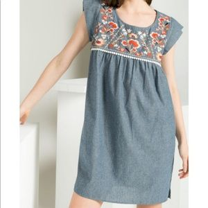THML Embroidered Dress